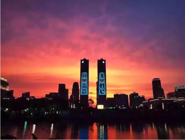 江西省南昌市红谷滩中大道绿地中心双子塔a1